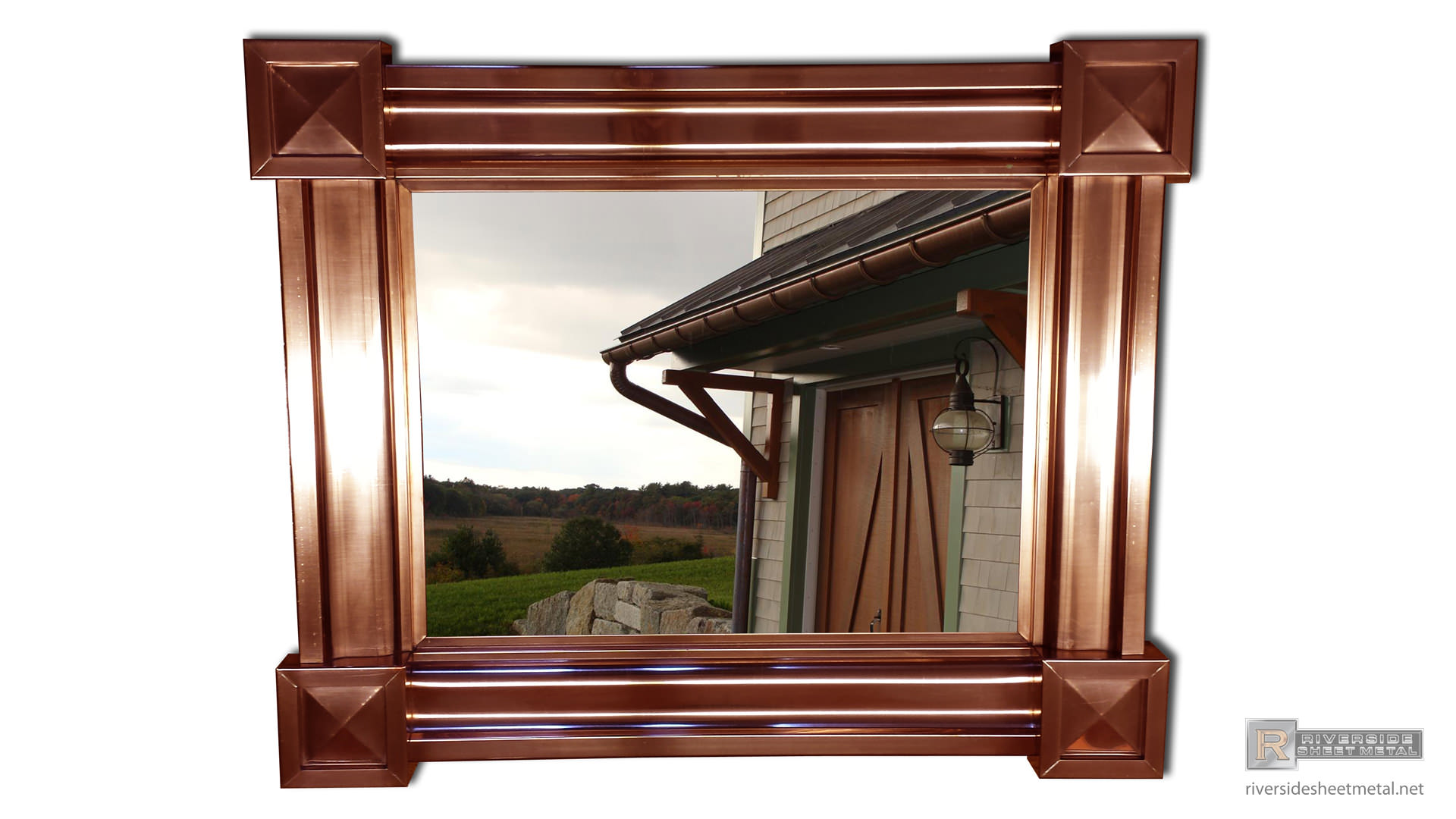 Copper Picture Frame Riverside Sheet Metal