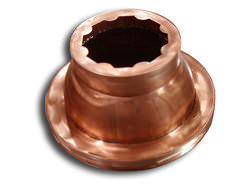 Copper base for pillar