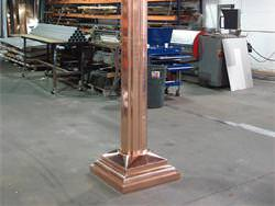 Copper pillar