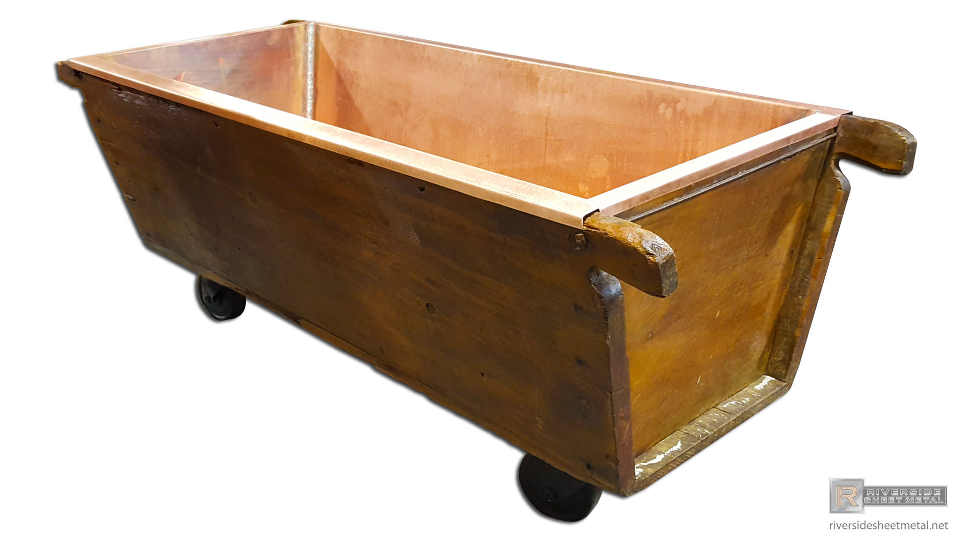 Rustic Copper Sink And Bathtub Custom Made To Order