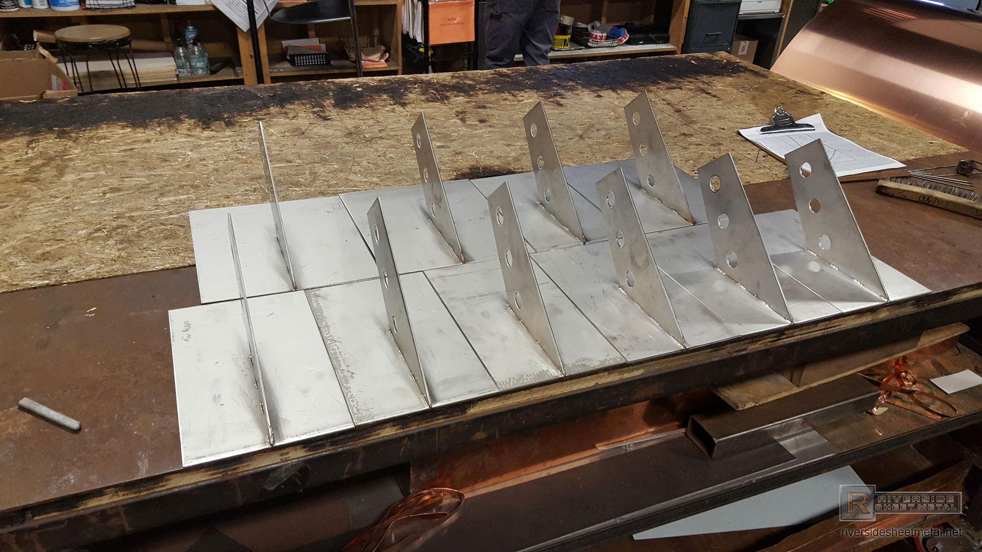 Custom Stainless Steel Snow Guard Brackets Boston Usa