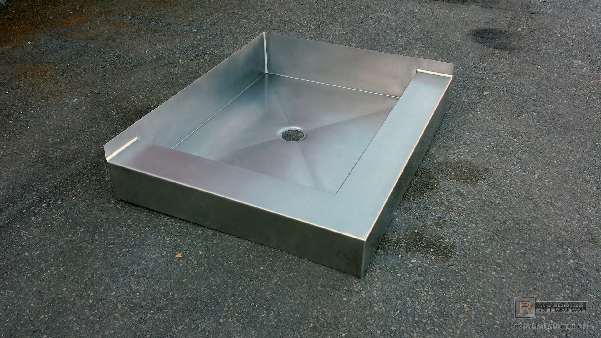 Superbe ... Custom Stainless Steel Shower Floor Base   View 3 ...