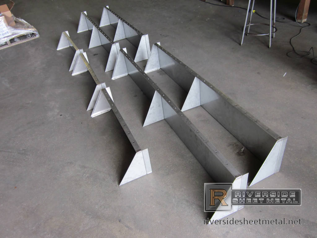 Stainless Steel Shelves Custom Made Shelves
