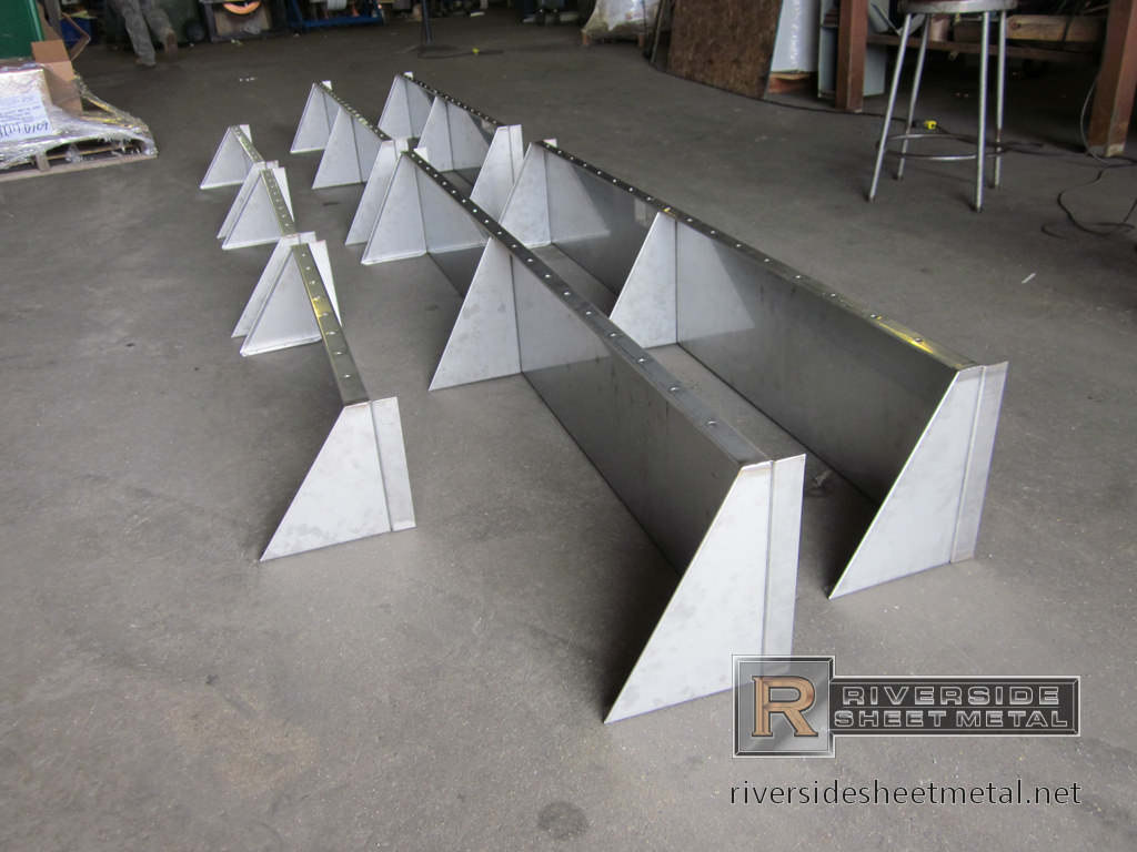 Custom Made Restaurant Shelves Riverside Sheet Metal Ma