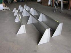 Stainless steel custom made shelf
