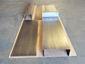 Dark patina copper column covers - view 3