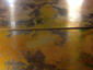 Burnished copper wall panels for fireplace surround - view 3