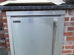 Stainless steel refrigerator frame