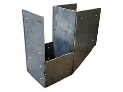 Steel bracket for wooden beams 1