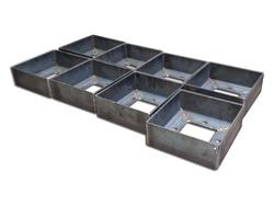 Steel pillar bases