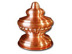 Detailed copper finial custom made - #FI006