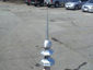 Aluminum octagon finial with ball - view 4