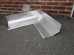 Custom made miter for masonry stainless steel