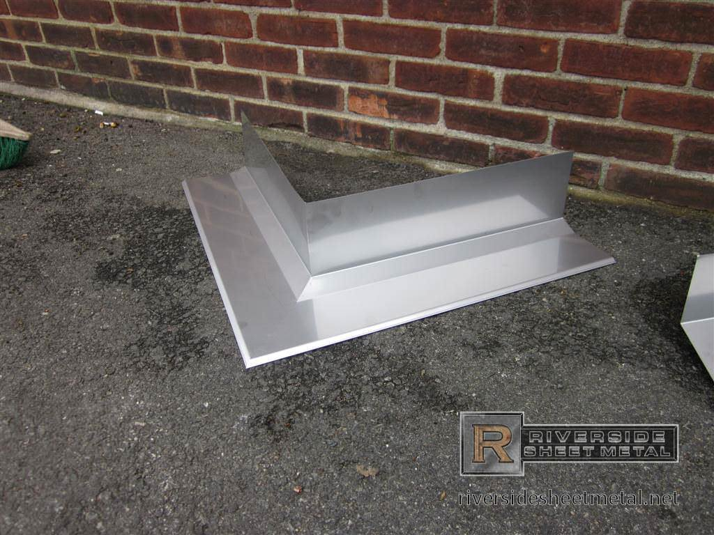 Custom Made Stainless Steel Miter For Masonry Flashing Metal