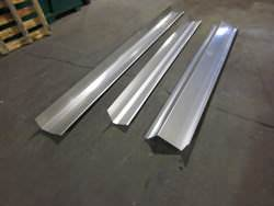 Different profiles of stainless steel flashing metal