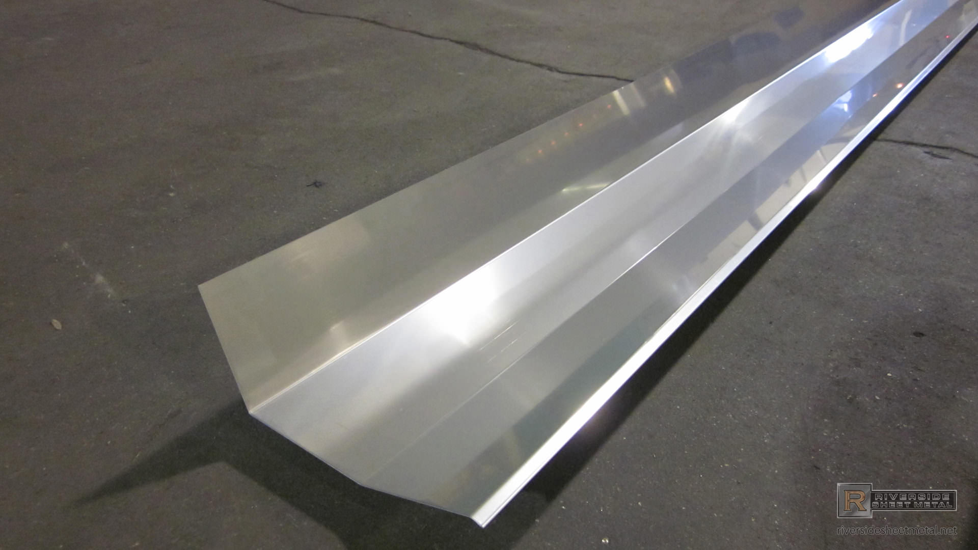 Edge Metal Bending for Roofing - Copper, Aluminum, Steel