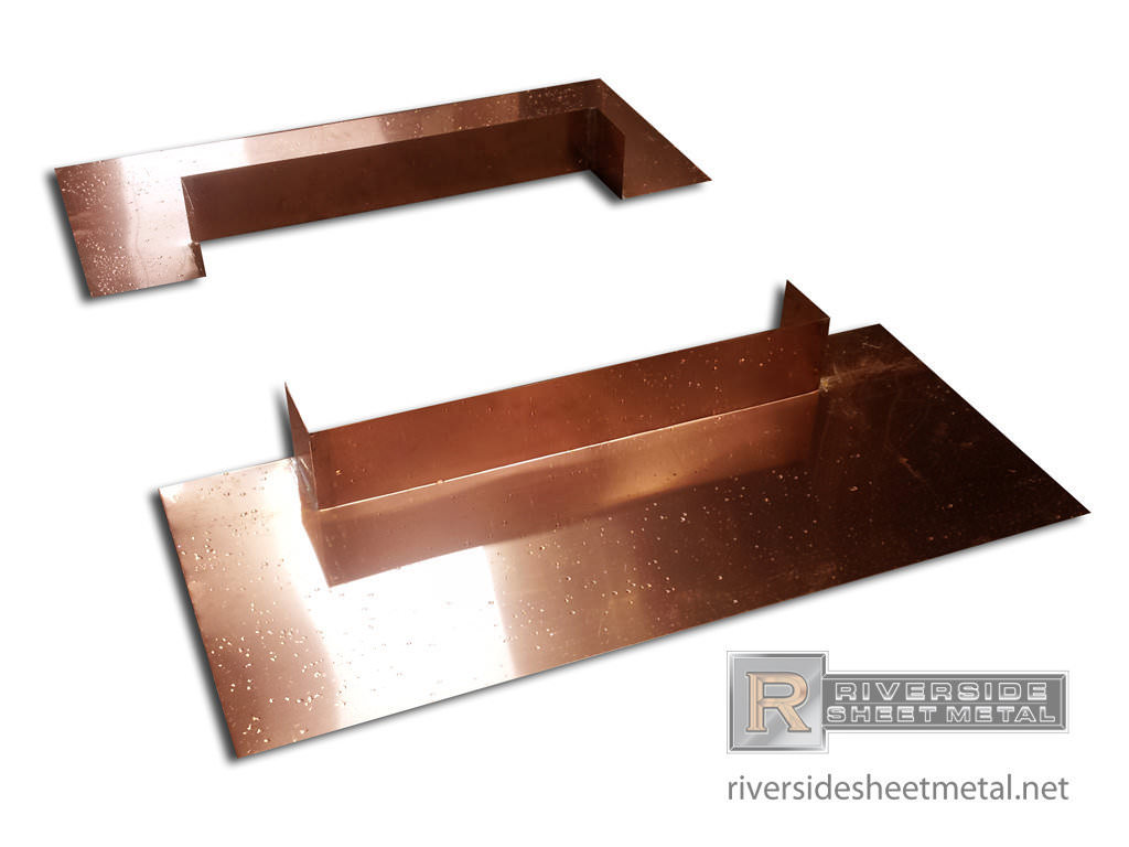 Copper Chimney Flashing Kit Flashing Metal Riverside