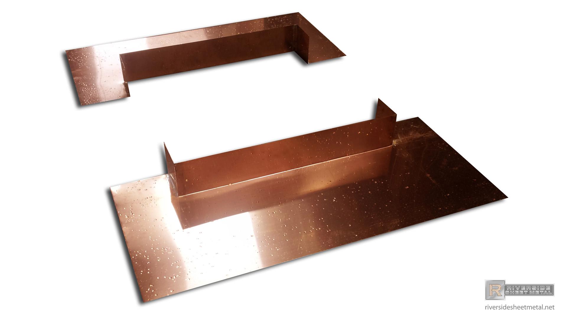 Rain Diverter Flashing Metal Copper Aluminum Steel