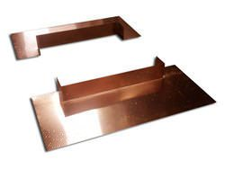 Copper chimney flashing kit