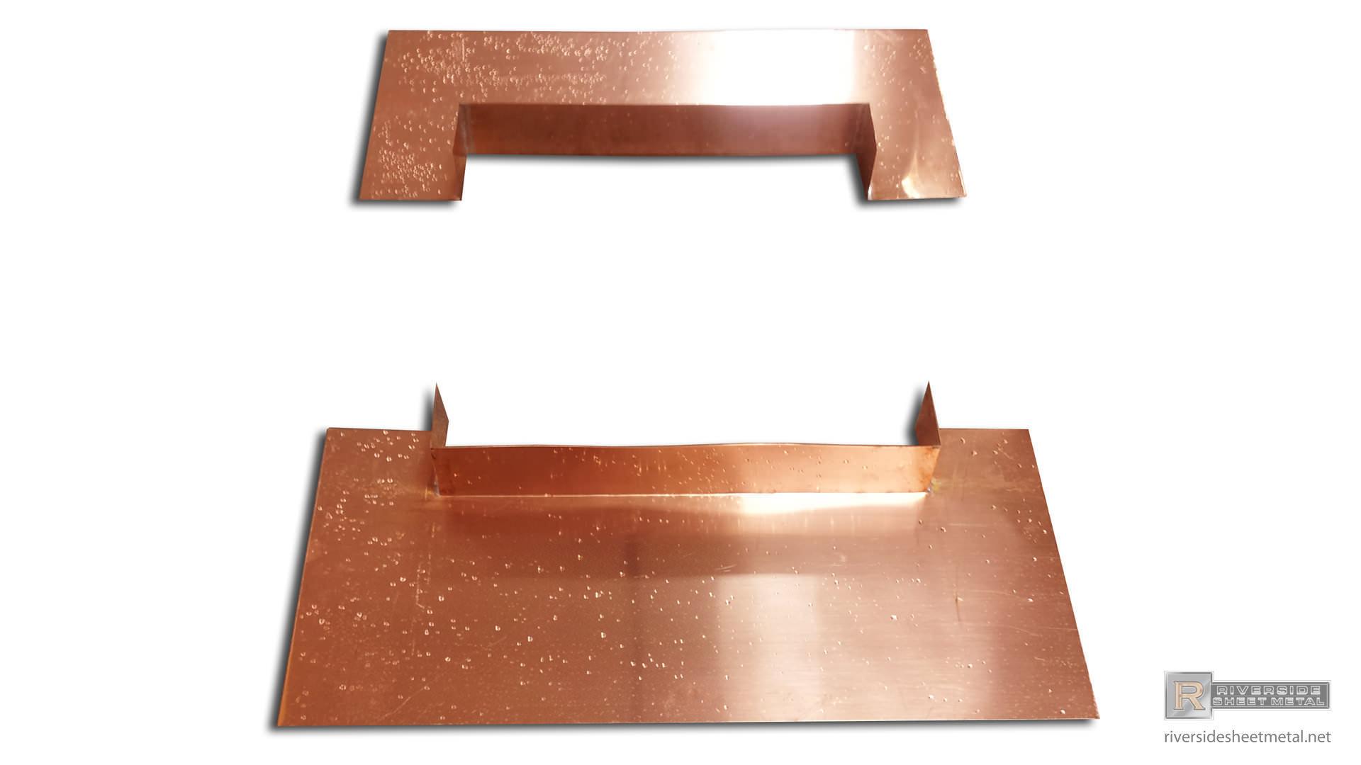 Chimney Flashing Metal Kit Copper Aluminum Steel Tcsii