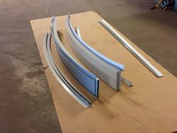 Custom curved zinc edge metal