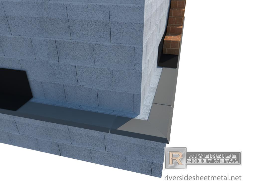 Drip Edge Masonry Flashing For Masonry Amp Roofing In Copper