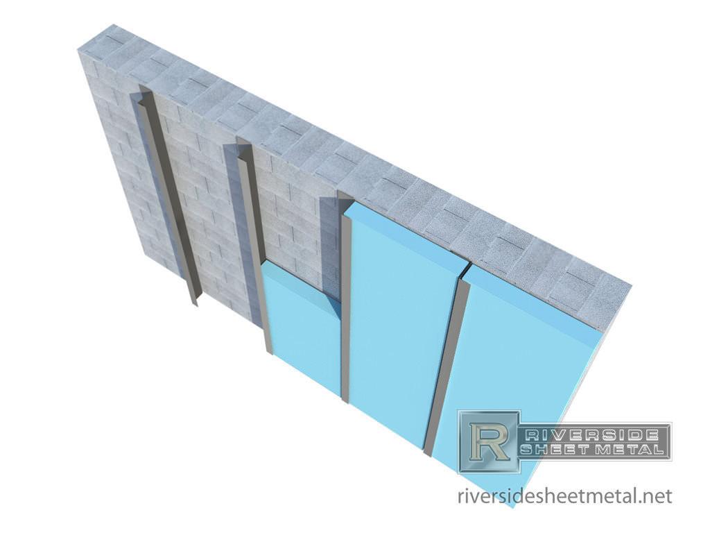 Custom Z Furring Channel For Insulation Masonry Metal