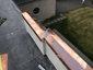 Custom copper parapet cap installation photo - view 4
