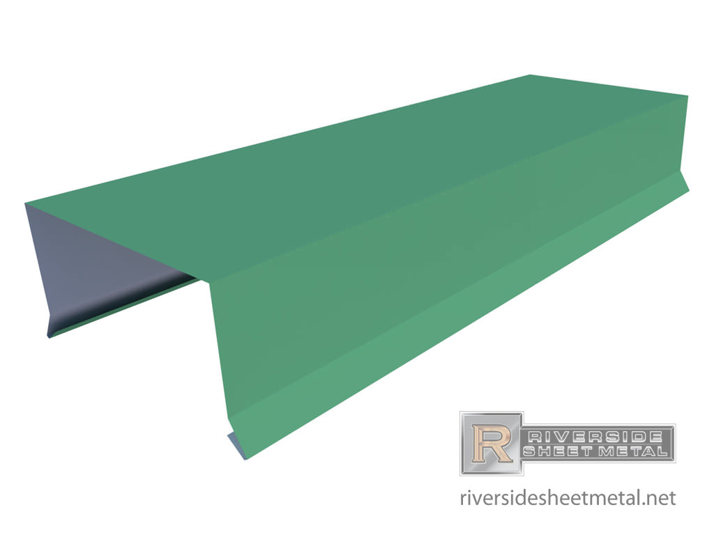 Parapet Wall Cap   Profile View 1 ...
