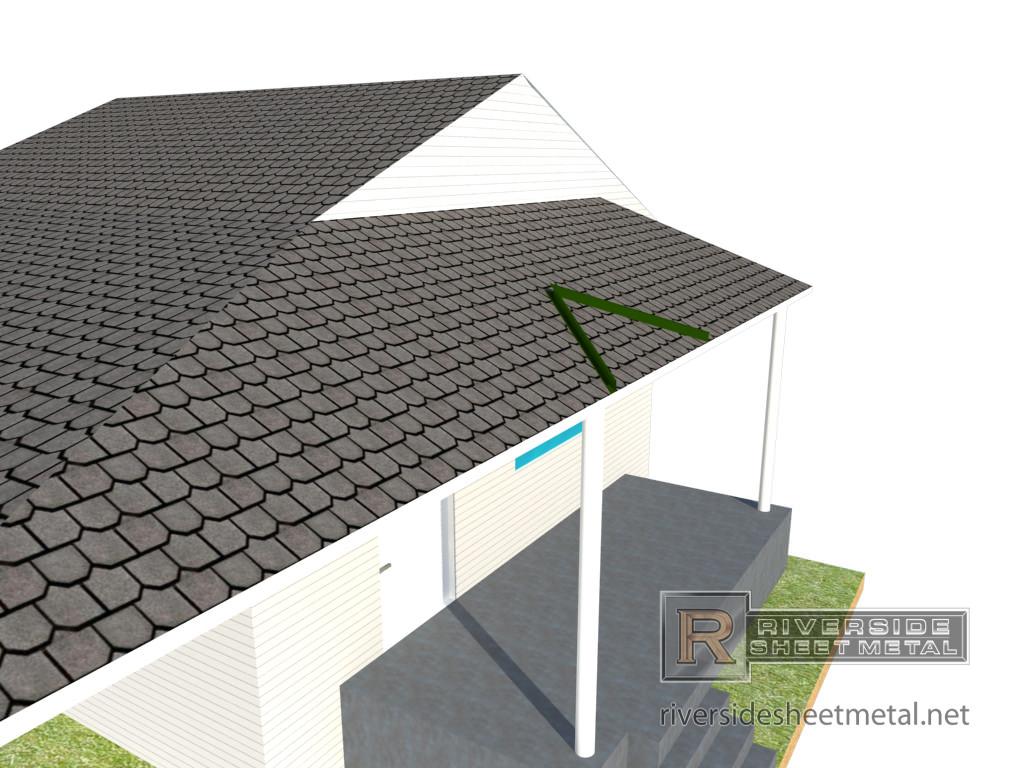 ... Rain Diverter Roof Installation   View 4 ...