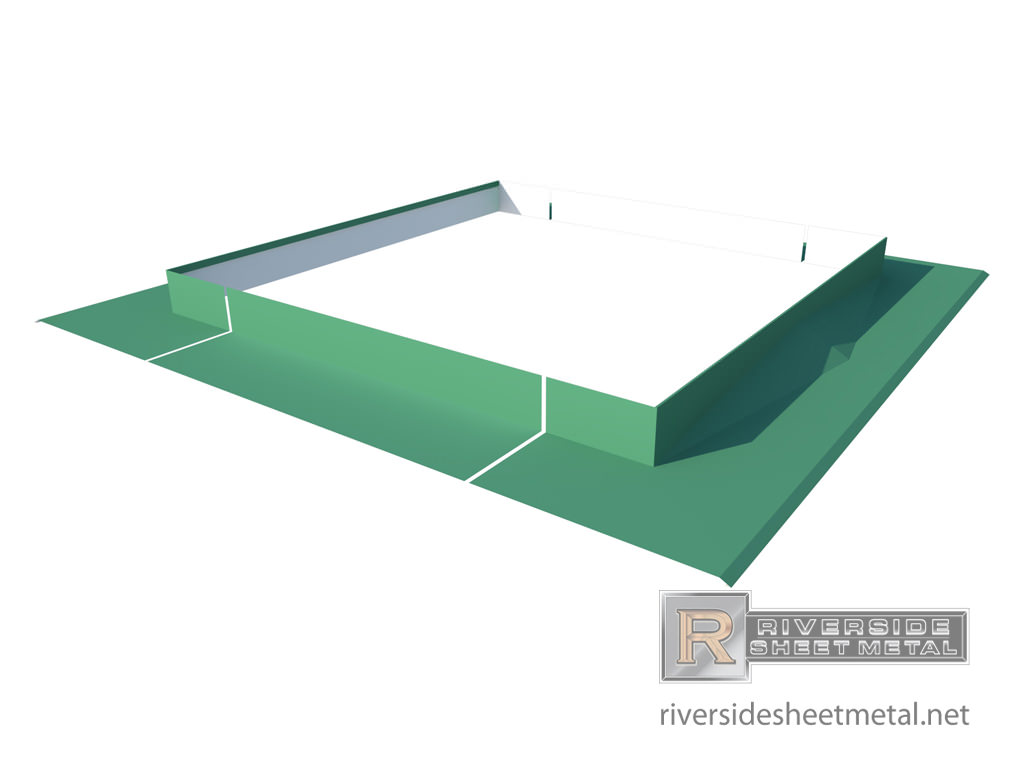 Cricket For Chimney Copper Aluminum Steel Zinc