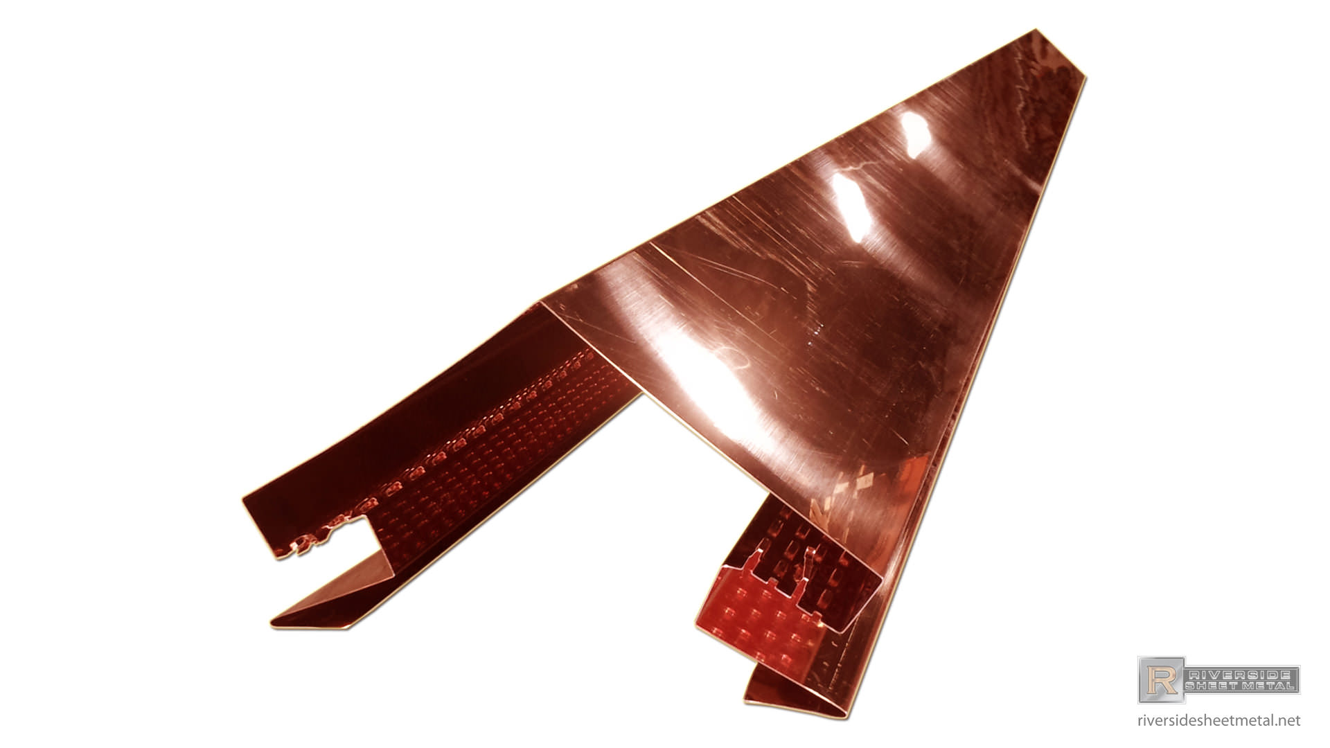 Chimney Flashing Metal Kit Copper Aluminum Steel Tcsii