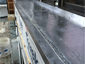 Lead coated copper window sill pan installation - view 2