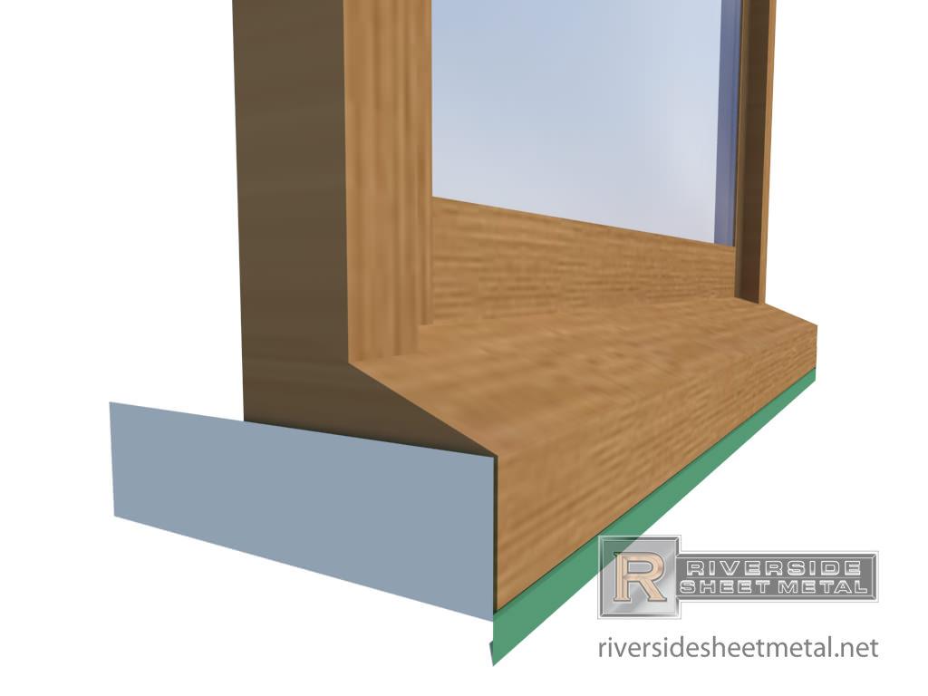 Aluminum window aluminum window sill for Aluminium window installation