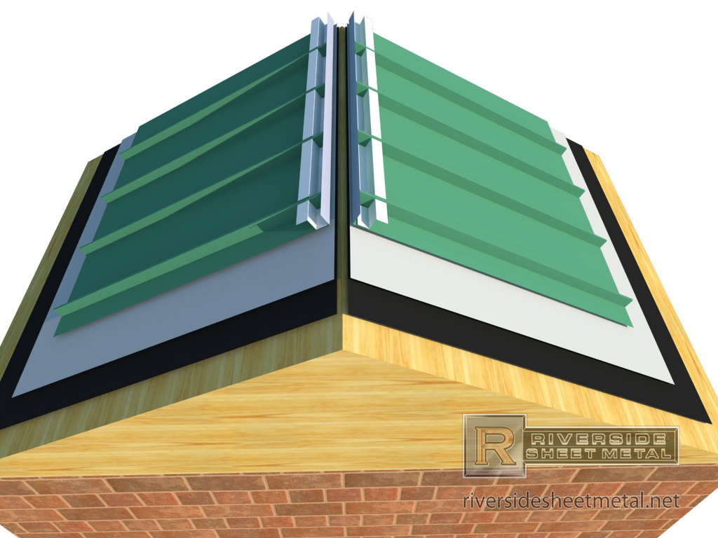 Roofing Sheets Installation Services : Z channel flashing metal roofing copper aluminum steel