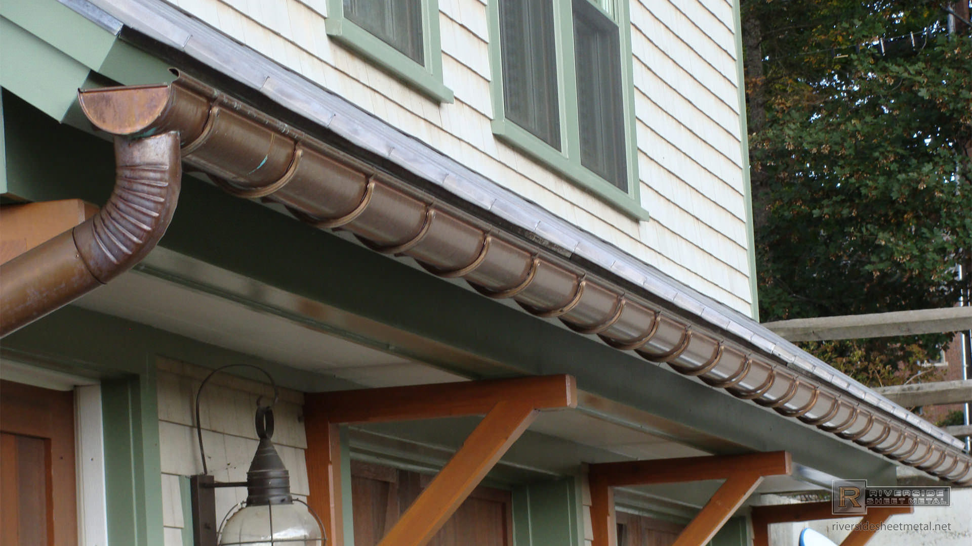 Lead Coated Copper Standing Seam Roof Panels Metal Roofing