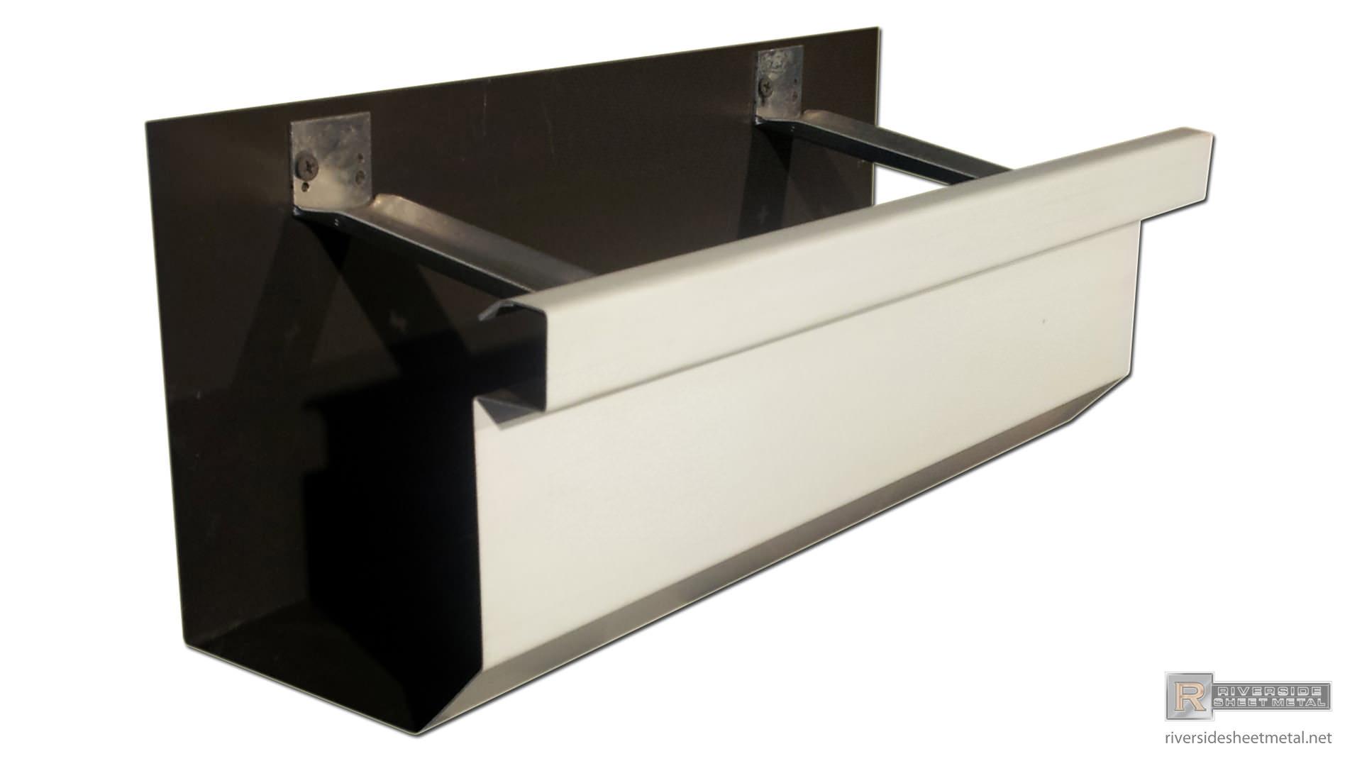Box Gutters Copper Aluminum Lcc Zinc Freedom Gray