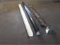 Custom ogee black aluminum gutter