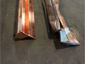 Custom ogee copper gutter