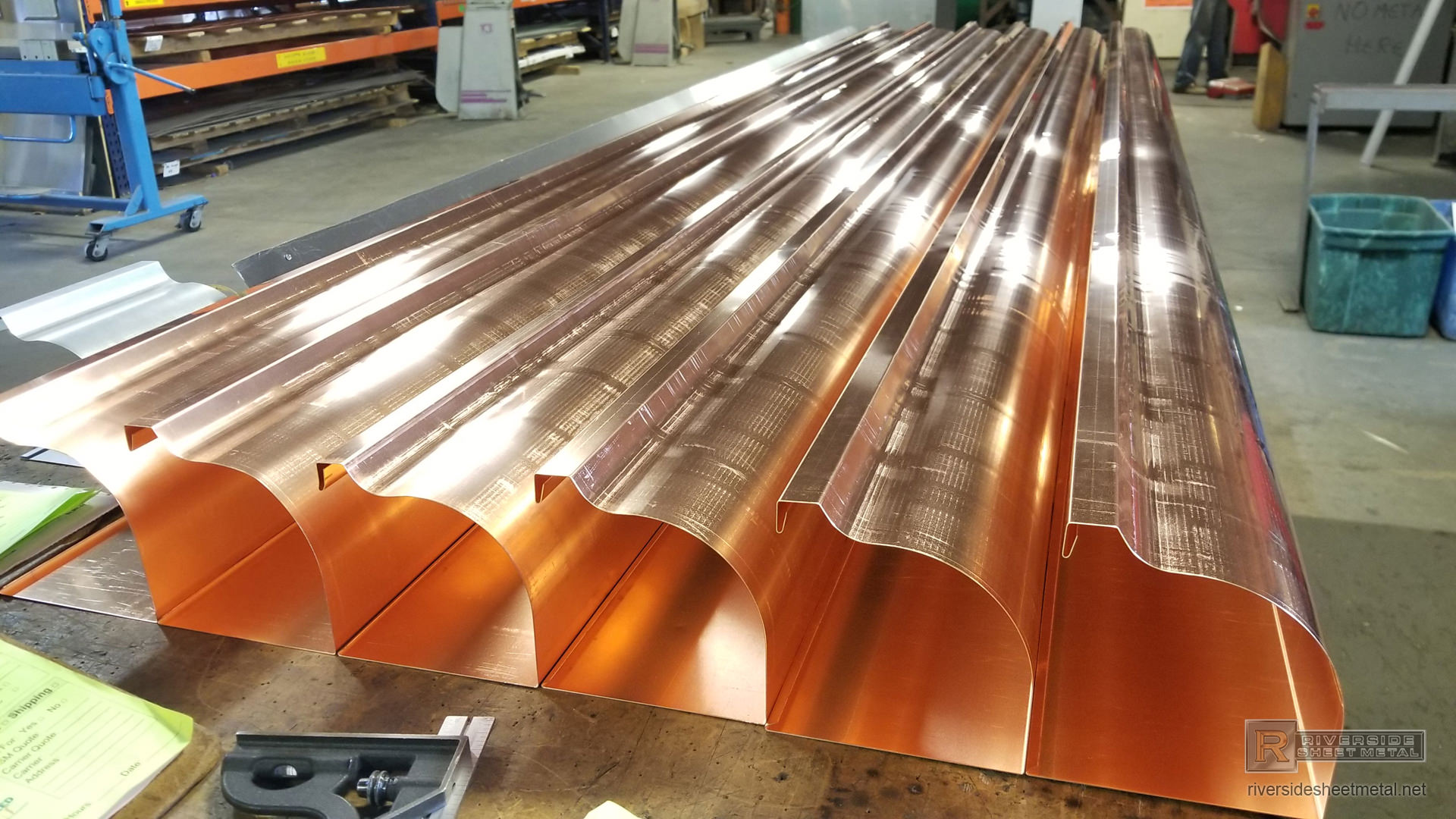 Custom Gutters Copper Aluminum Lcc Zinc Freedom Gray