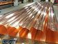 Custom ogee copper gutters - view 1