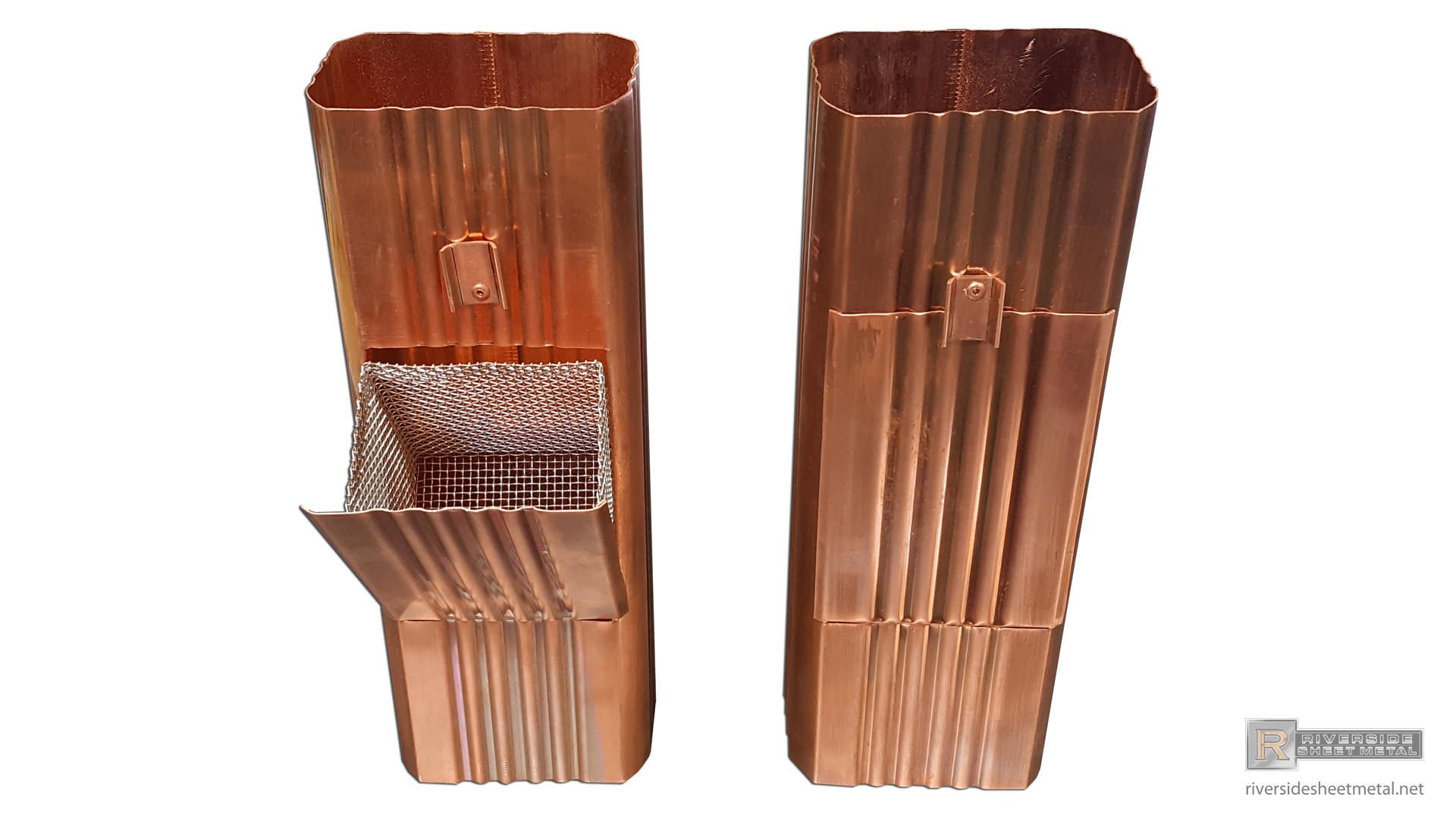 copper-square-corrugated-downspout-clean