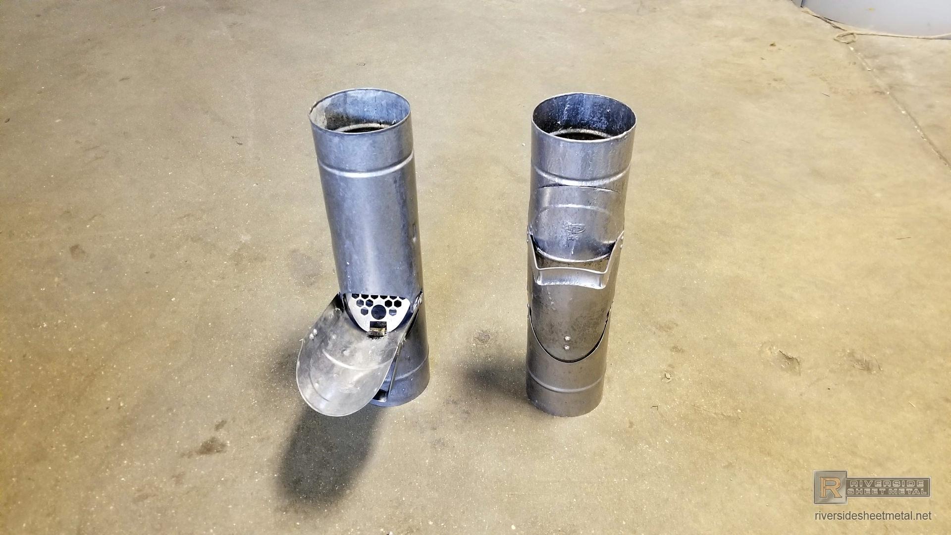 Plain Round Copper And Aluminum Downspout Cleanout 3 Quot 4