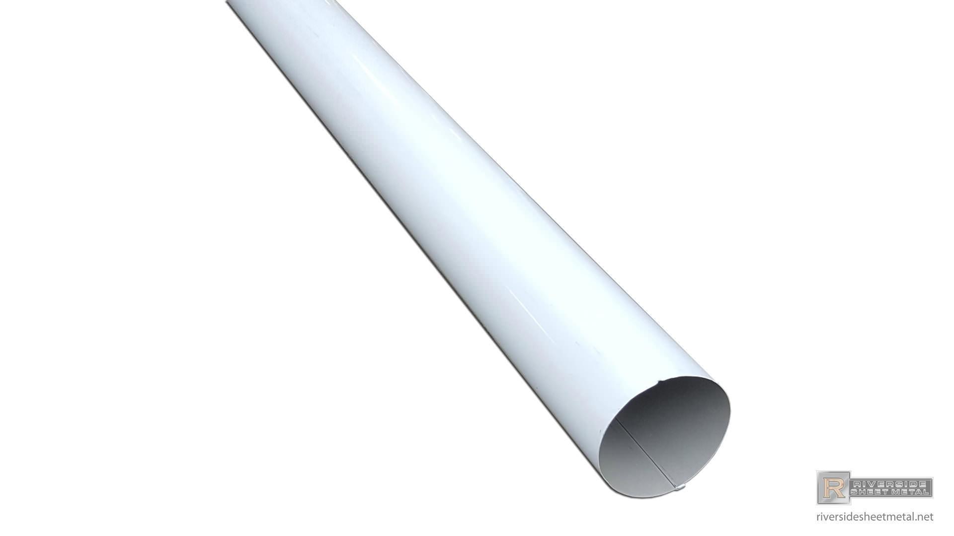 Plain Round Aluminum Gutter Downspout 2 Quot 3 Quot 4 Quot 5 Quot 6