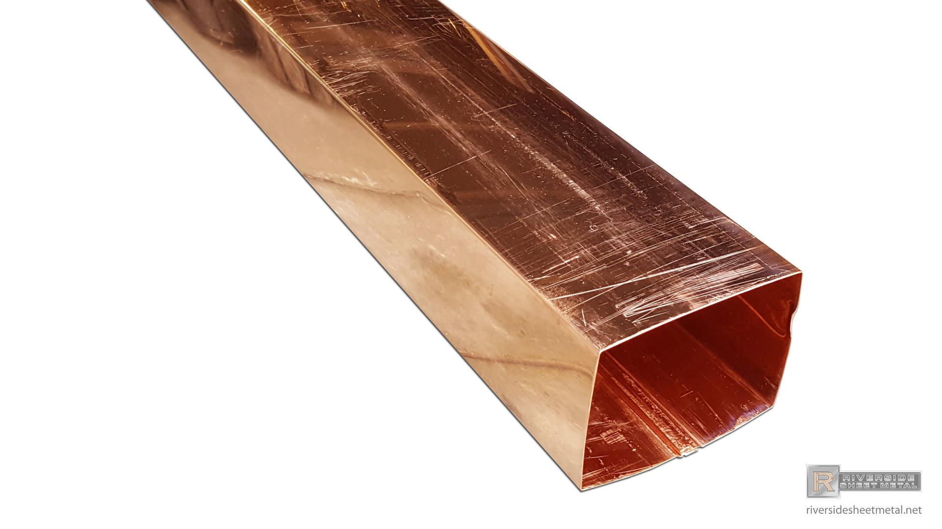 Plain Smooth Aluminum Gutter Downspout 2 Quot X 3 Quot 3 Quot X 4