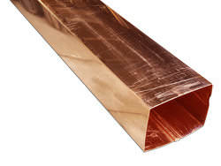 Downspouts Copper Aluminum Square Corrugated Amp Round