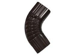 Square corrugated aluminum gutter elbow