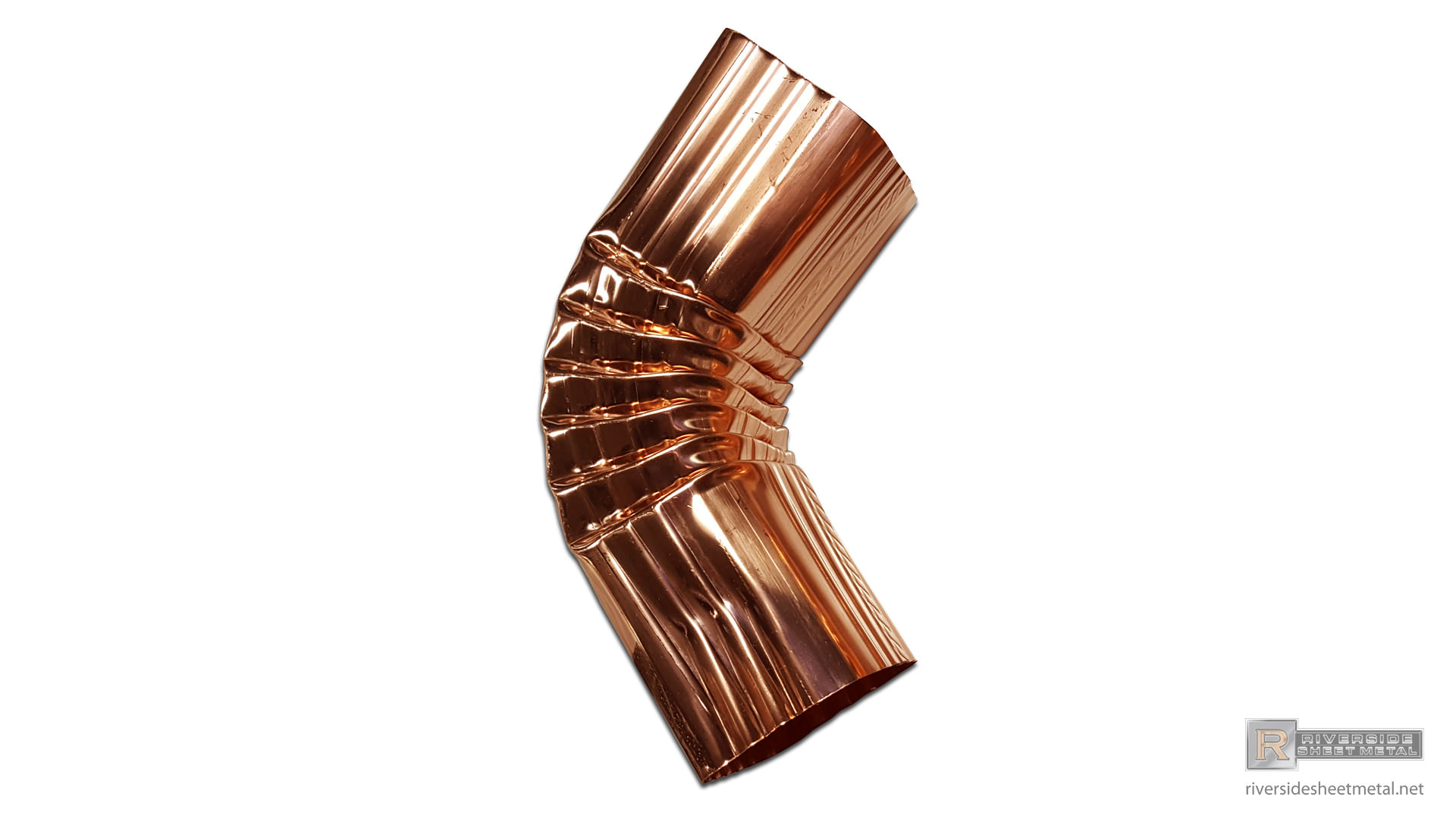 Corrugated Aluminum Or Copper Gutter A Elbow 2 Quot X3 Quot 3
