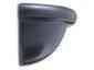 Half-round aluminum gutter spherical end cap - view 3