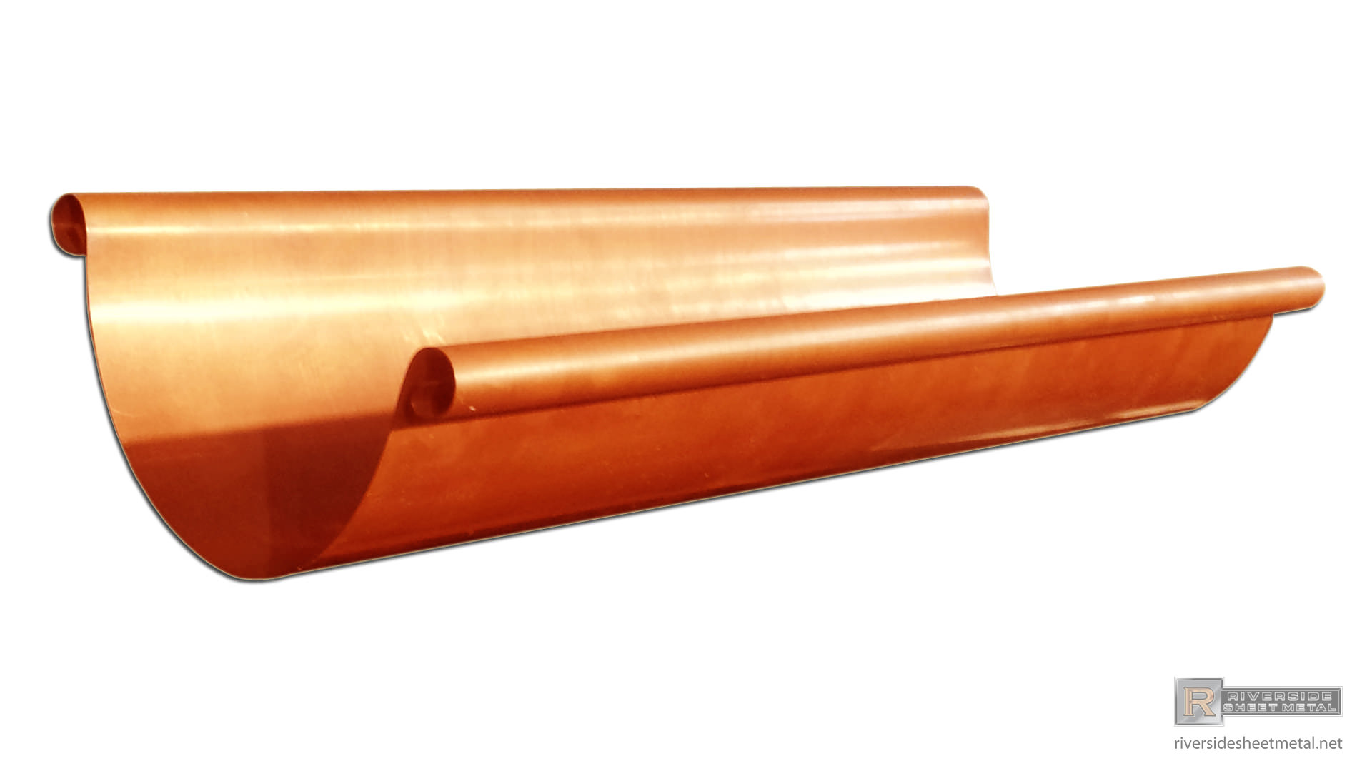 Half Round Gutters Copper Aluminum Zinc Lcc Single